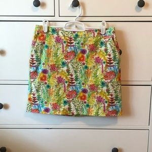 Liberty JCrew flower pencil skirt